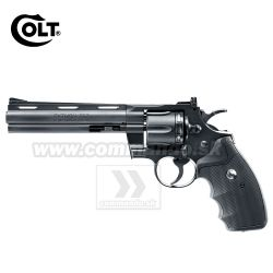 "Airgun Revolver Colt Python .357 6"" Black GNB CO2 4,5mm"