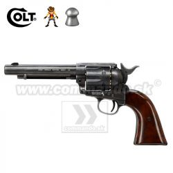 Airgun Revolver Colt SAA .45 Peacemaker Diabolo Antique CO2 4,5mm