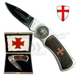 Templar Cross Collection Templársky zatvárací nôž