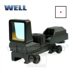 Kolimátor Wellfire Red Point Sight 21/22 mm