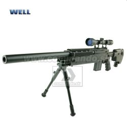 Airsoft Sniper Well MB4406D JNG90 BORA Set ASG 6mm