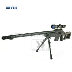 Airsoft Sniper Well MB 4409D 3-9x40 Set ASG 6mm
