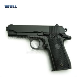 Airsoft Pistol Well P88 Full Metal Manual Spring 6mm