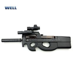 Airsoft Well D90H + Silencer AEG 6mm