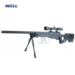 Airsoft Sniper Well L96 MB01C Black Set ASG 6mm