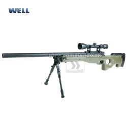 Airsoft Sniper Well L96 MB01 Olive Set ASG 6mm
