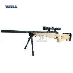 Airsoft Sniper Well L96 MB01C Tan Set ASG 6mm