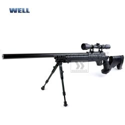 Airsoft Sniper Well G22 MB04D Black Set ASG 6mm