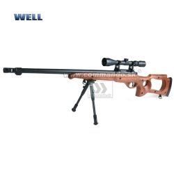 Airsoft Sniper Well MB10D Wood Set ASG 6mm
