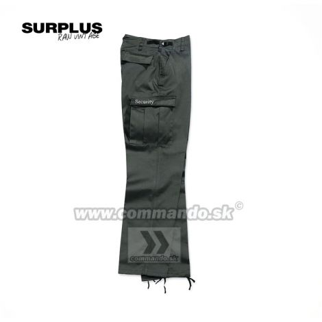 Surplus Security Ranger Black nohavice