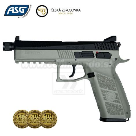 Airsoft Pistol CZ P-09 URBAN GREY CO2 GBB 6mm