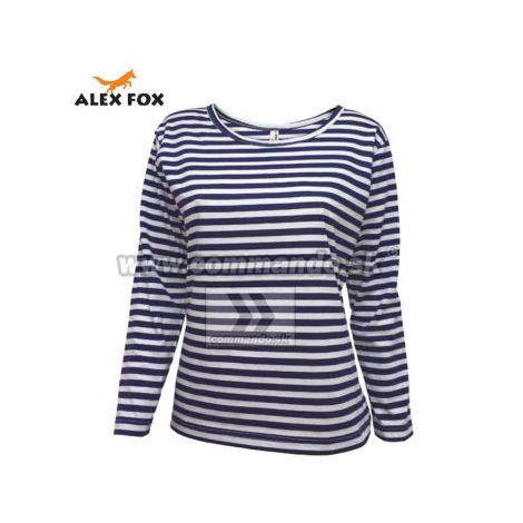 e2cc4d914 Alex Fox Námornícke tričko Ladies Mary Russian Marine - dlhý rukáv ...