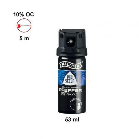 Obranný sprej Walther Pepper Spray 53 ml ballistic