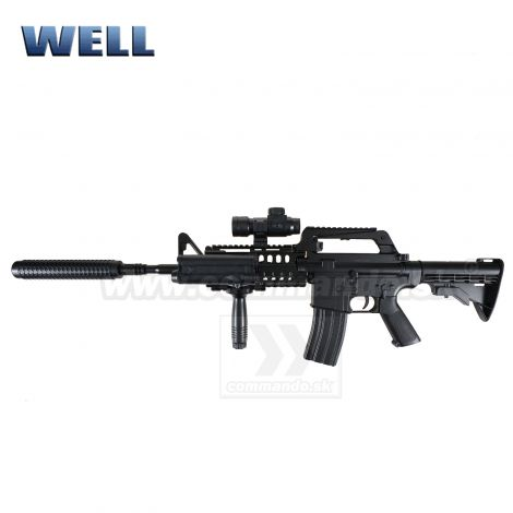 Airsoft Well MR799 M4 Manual ASG 6mm