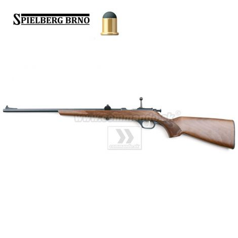 Flobert Rifle Spielberg 200F Brno Black Buk 6mm