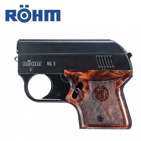 Plynovka Röhm RG 3 Black 6mm Flobert