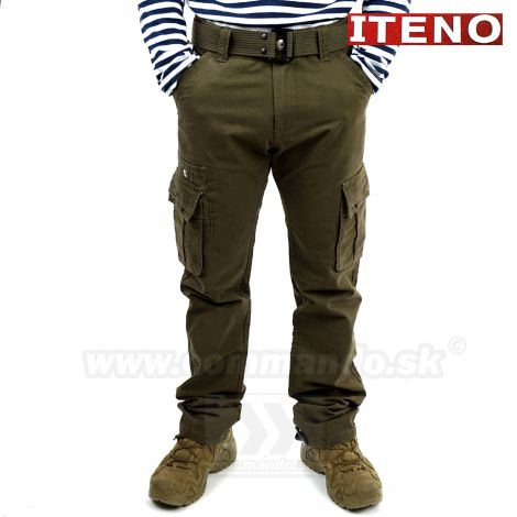 ITENO kapsáčové nohavice Tactical Light Brown