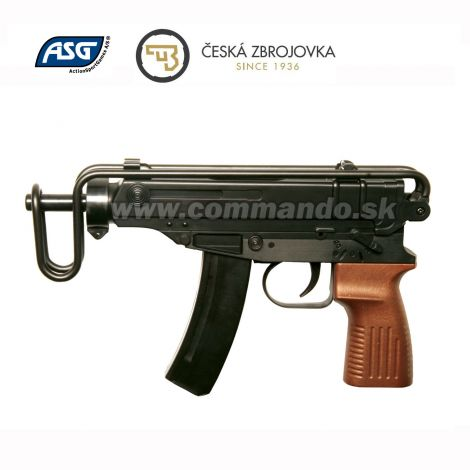 Airsoft CZ Scorpion Vz.61 ASG Spring 6mm