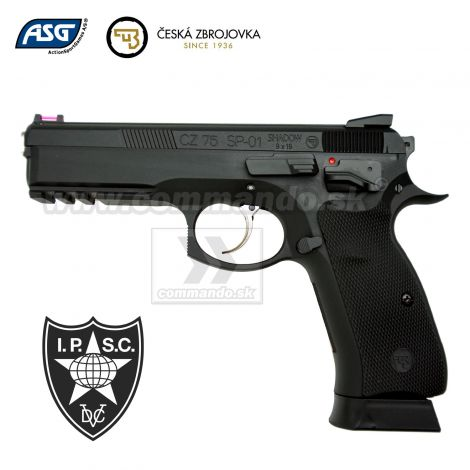 Airsoft Pistol CZ SP-01 Shadow IPSC MS GBB 6mm