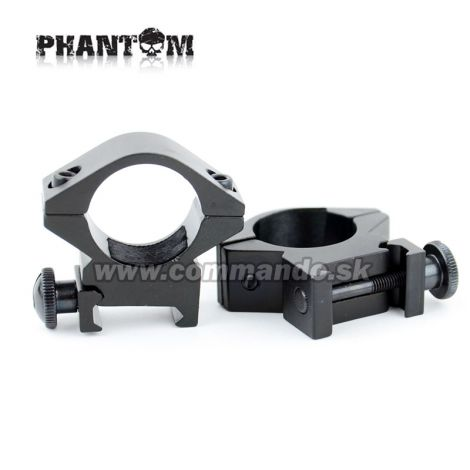 Phantom Rifle Scope Rings Ø 25,4 mm Low Montážne krúžky 21mm