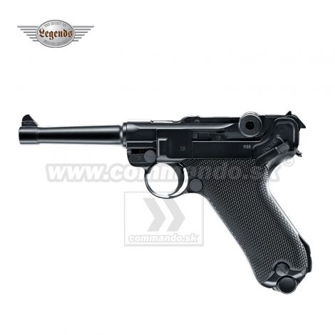 Airgun Vzduchovka Parabellum P08 BlowBack CO2 4,5mm
